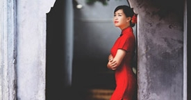 ragazza vietnamita