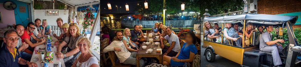 pranzo a bangkok