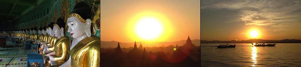 immagini dal tour in myanmar